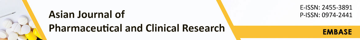 Asian Journal of Pharmaceutical and Clinical Research